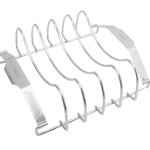 Quantum steel meat rack front angled