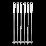 Quantum steel skewers set of 6 top down